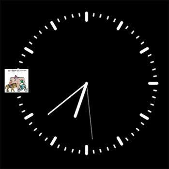 Simple prototype of PECs Clock (C Maycock ,2017